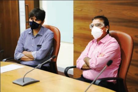 नवी मुंबई महापालिकेच्या आयुक्तपदाचा अभिजित बांगर यांनी स्वीकारला कार्यभार