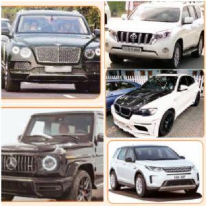 उद्योगपतींच्या ताफ्यात महागड्या मोटारी