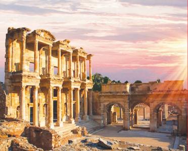 रोमन साम्राज्याचा वारसा सांगणारे मंदिर