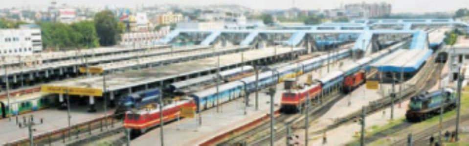 रेल्वे जंक्शन म्हणजे काय?