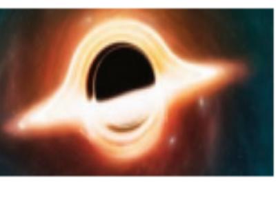 विराट ब्लॅक हाेलमधून प्रथमच रंगीत प्रकाश दिसला
